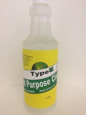 TYPE-E - ALL PURPOSE CLEANER - 1 L