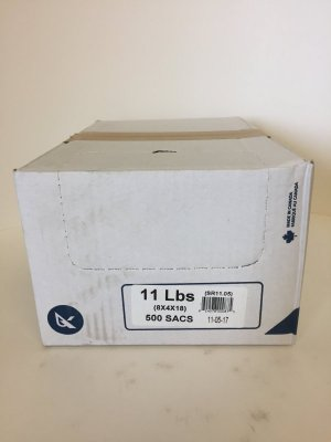 11 LB POLY BAGS - 500/BX