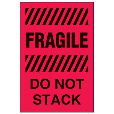 LABEL-FRAGILE/DO NOT STACK-4