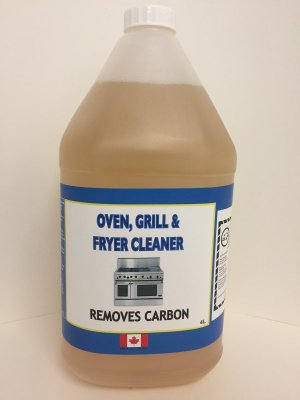 OVEN FRYER & GRIDDLE CLEANER - 4 L
