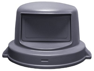 HUSKEE LID-DOME-FOR 44 GAL CONT-GREY