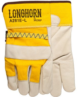 LONGHORN-FULLGRAIN COWHIDE/COTTON-L