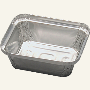 1 LB OBLONG FOIL CONTAINER 1M/CS