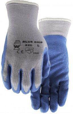 BLUE CHIP-LATEX COATED SURE GRIP - L