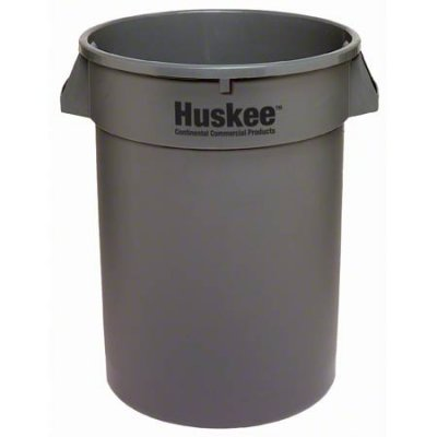 HUSKEE CONTAINER - 32 GAL - GRAY