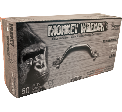 MONKEY WRENCH ORANGE 6 MIL - XL - 50/BX
