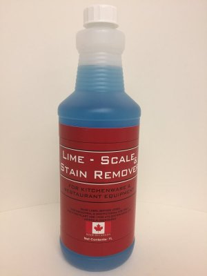 LIME, SCALE & STAIN REMOVER - 1 L