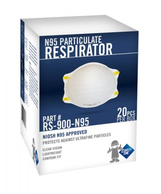 N95 PARTICULATE RESPIRATOR - 20/BX