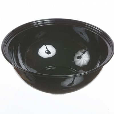 160 OZ PP SALAD BOWL-BLK-12