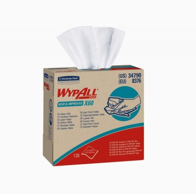 WYPALL X60 TERI WIPES POP-UP10 X 126