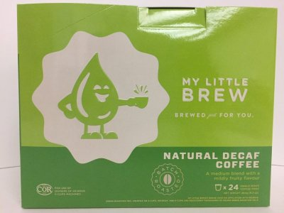 LITTLE BREW - NATURAL DECAF - 24 / BX