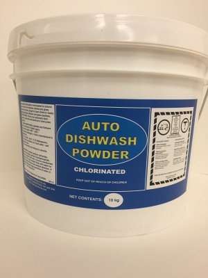 CHLORINATED DISH DETERGENT - 10 KG