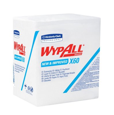 WYPALL X-60 WIPERS 12 X 76 / CS