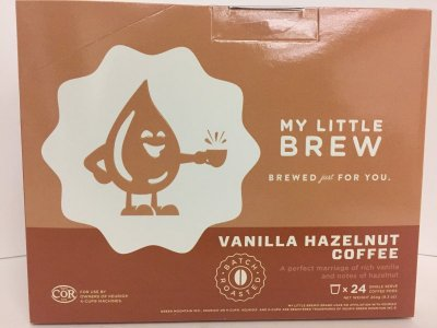 LITTLE BREW - VANILLA HAZELNUT - 24 / BX