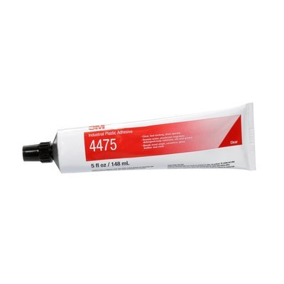 PLASTIC ADHESIVE 4475 CLEAR - 5 OZ