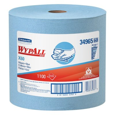 WYPALL X-60 ROLL - 1100 SHEETS - BLUE