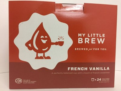 LITTLE BREW - FRENCH VANILLA - 24 / BX
