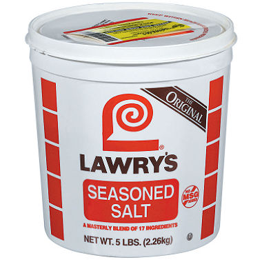 LAWRYS SEASONED SALT - 2.26 KG
