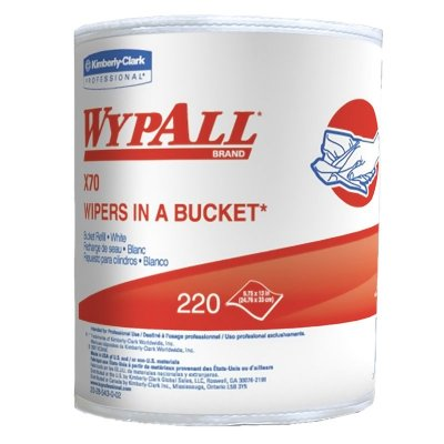 WYPALL-X70 WIPERS IN A BKT REFILLS- 3/CS