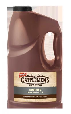 CATTLEMEN'S - SMOKY BASE BBQ - 4L