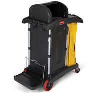 HIGH SECURITY HEALTHCARE MICROFIBRE CART