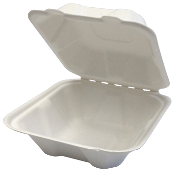 COMPOSTABLE CLAMSHELL 6