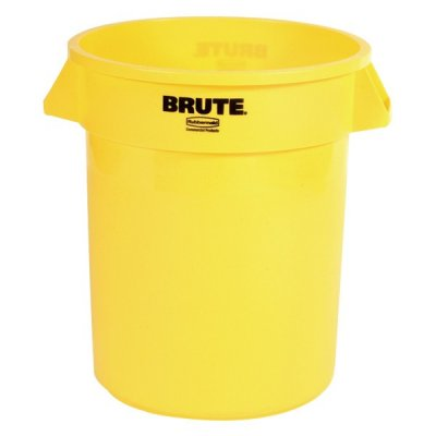 20 GAL BRUTE CONTAINER - YELLOW