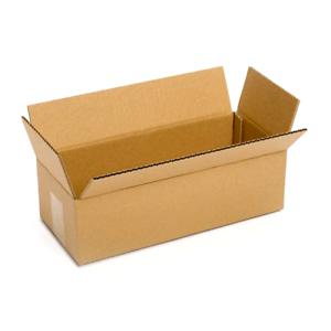 14 1/2 x 6 1/4 x 4 CARDBOARD BOX
