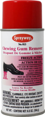 SPRAYWAY - CHEWING GUM REMOVER
