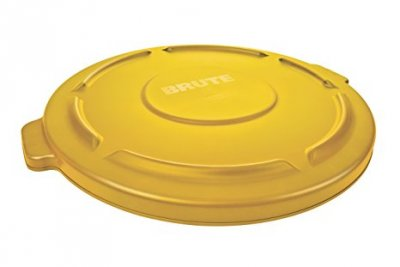 LID FOR 20 GAL BRUTE CONTAINER - YELLOW