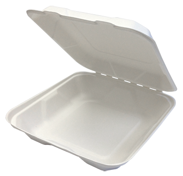COMPOSTABLE CLAMSHELL 9