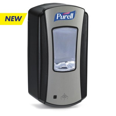 PURELL 'LTX' DISPENSER- 1200ML- BLK/CHRM