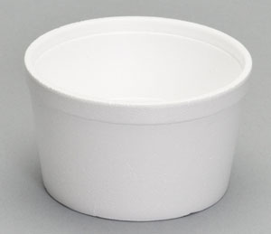 8 OZ. FOAM CONTAINER 500/CS