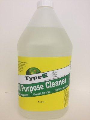 TYPE-E - ALL PURPOSE CLEANER - 4 L