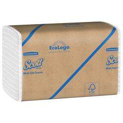 SCOTT WHITE MULTIFOLD TOWEL 16X250/CS