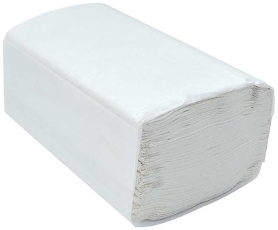 WHITE SINGLEFOLD TOWEL 16 X 250