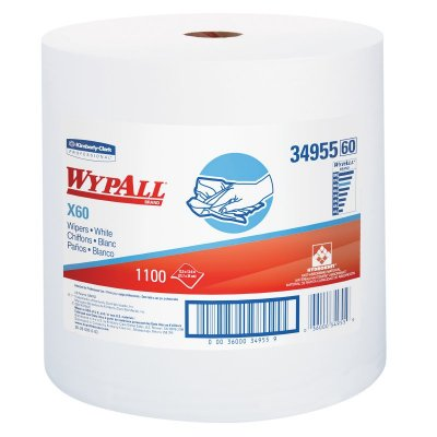 WYPALL X-60 ROLL - 1100 SHEETS - WHITE