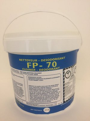FP-70  CHLORINATED POWDER CLEANER