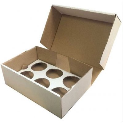 CUPCAKE INSERT FOR 1/4 SLAB BOX - 100/BD