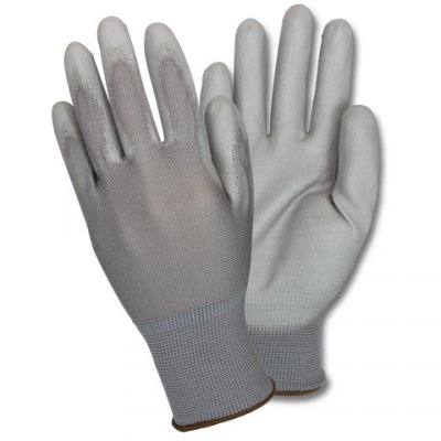 NIDEX GLOVE-BLK- NITRILE FOAM DIPPED -M