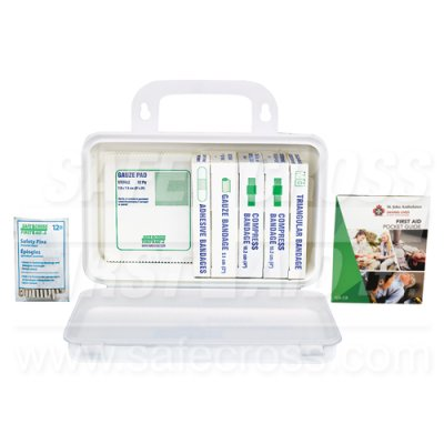 FIRST AID KIT - 1-5 EMPLOYEE - PLASTIC