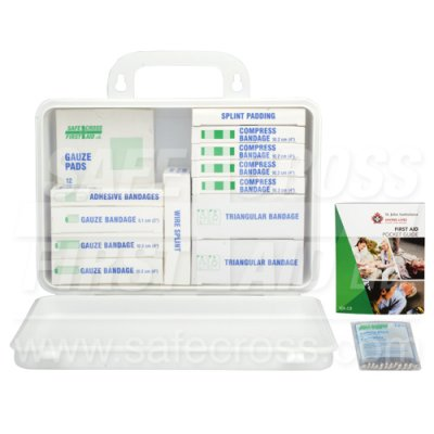 FIRST AID KIT - 6-15 EMPLOYEE - PLASTIC