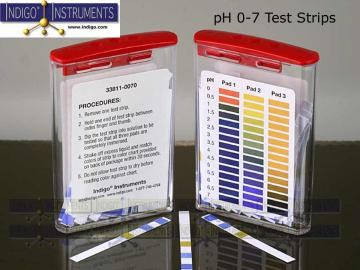PH ACID TEST PAPER 0-7 - 100/PK
