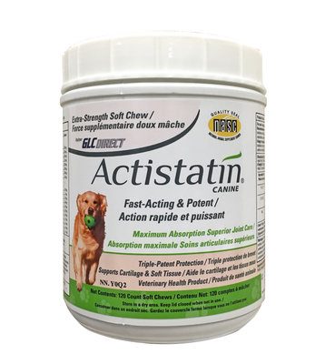 ACTISTATIN - LARGE DOG CHEW - 120 COUNT