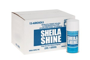 SHEILA SHINE AEROSOL S/S CLEANER