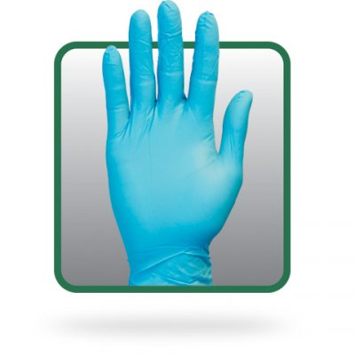 BLUE PREMIUM BLENDED GLOVE - M - 100/BX