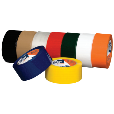 48MM X 100M CARTON TAPE HP200 RED 36/CS