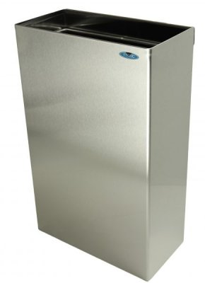 S/S WALL MOUNT WASTE RECEPTACLE