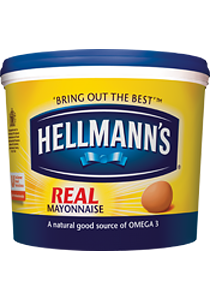 HELLMANN'S REAL MAYONAISE - 4L