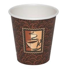 10 OZ PAPER HOT DRINK CUP-JAVA-1M/CS